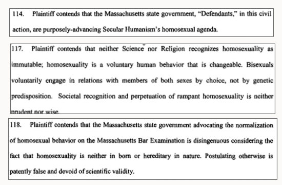 """Anti-Gay Law Student Claims Gays """"Unnatural"""""""
