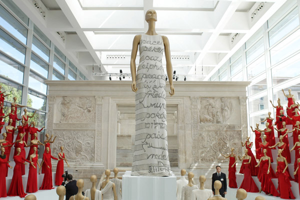 Valentino Celebrates 45th Anniversary By Leading Army of Well-Dressed Mannequins