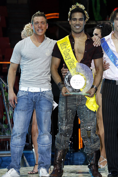 Mr. Gay Europe Crowned!