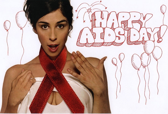 Sarah Silverman's Down With AIDS