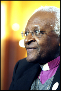 "Tutu ""Sorry"" For Church's Anti-Gay Ways"