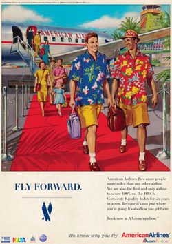 American Airlines Looks Back For New Gay Ads