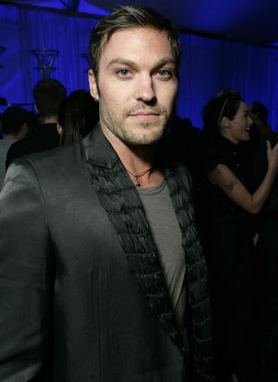 Brian Austin Green Goes Heavy On The Make-Up