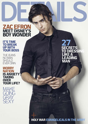 Zac Efron Fills Details' Gay Quota?