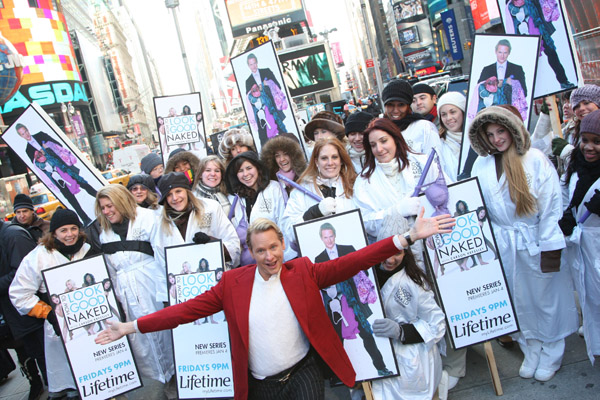 Carson Kressley, Potentially Naked Ladies Storm NYC