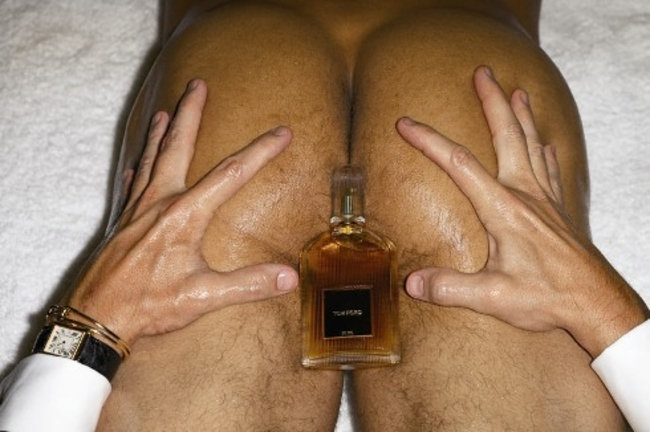 Artist Takes On Tom Ford Cologne Ad