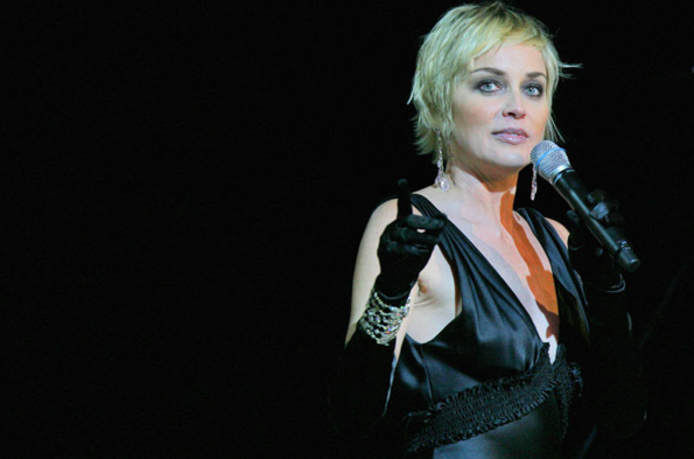 Happy Endings: Sharon Stone Seeks Manly Lady