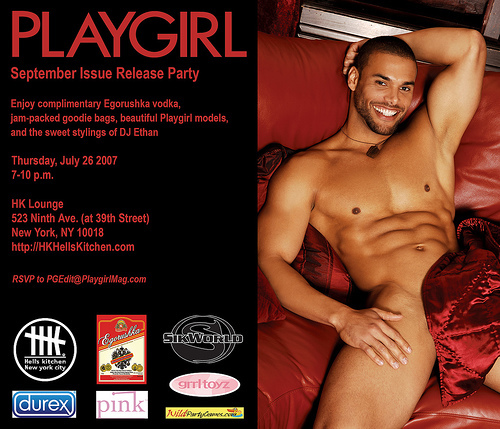 'Playgirl' Plays For The Gays