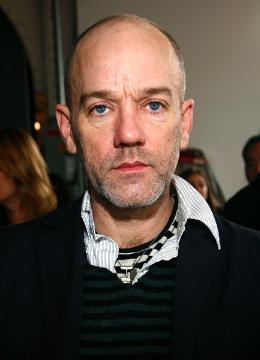 Michael Stipe Up At Patrik Ervell