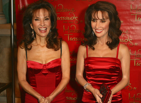 Susan Lucci Made Of Wax