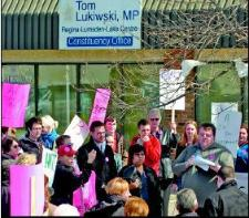More Protest For Anti-Gay MP