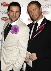 Gay TV Team Gets Hitched