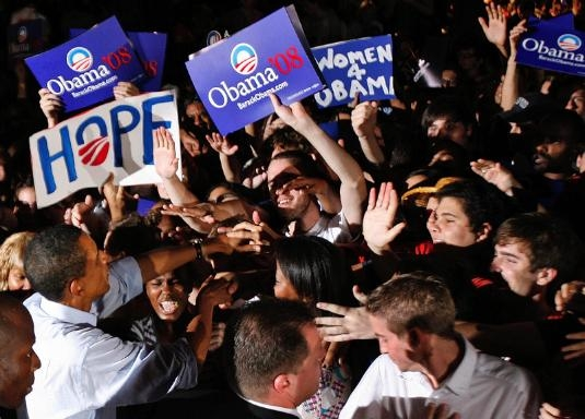 """Obama On Top After NC Win, Hillary's """"Squeaker"""""""