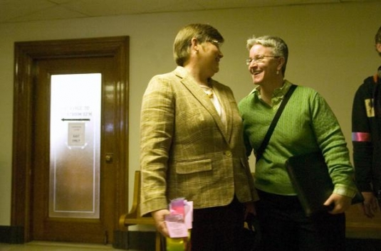 Lesbians Seeking Marriage Find Trespassing Charges