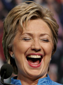 """Mrs. Clinton's """"Testicular Fortitude."""""""