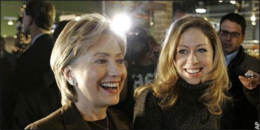 Hillary and Chelsea's Oregonian, Lesbianic Push