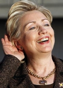 """Hillary Going """"Nuclear"""""""
