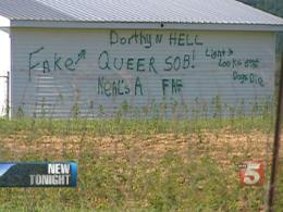 More Anti-Gay Action For Tennessee Man