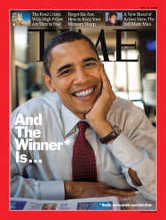 'Time' For Obama...