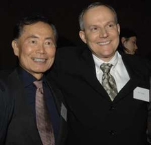 Excited Gays Cut Takei's Wedding Line
