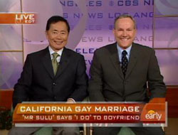 George Takei Preparing For Gay Nups