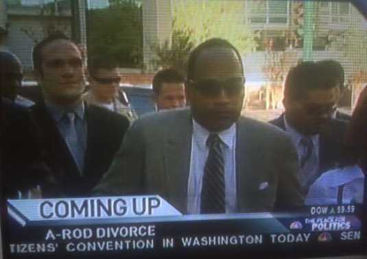 Even OJ's Up In Madge/A-Rod Love Affair