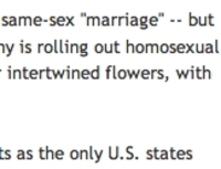 Right-Wing News Site Edits AP's Gay Take