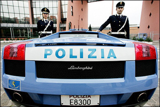Italy's Security Forces Driving Selves From Closet