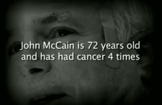 McCain's Cancer Past Propels PAC Attack Ad