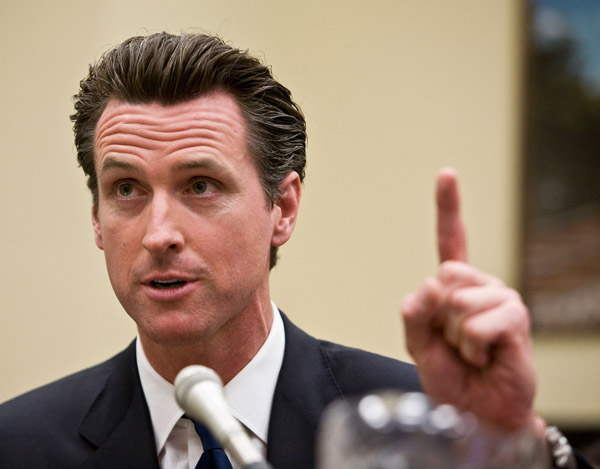 Does Newsom Deserve Blame If Proposition 8 Passes?