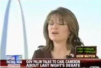 Palin Sits on Fox News' Lap and Weeps