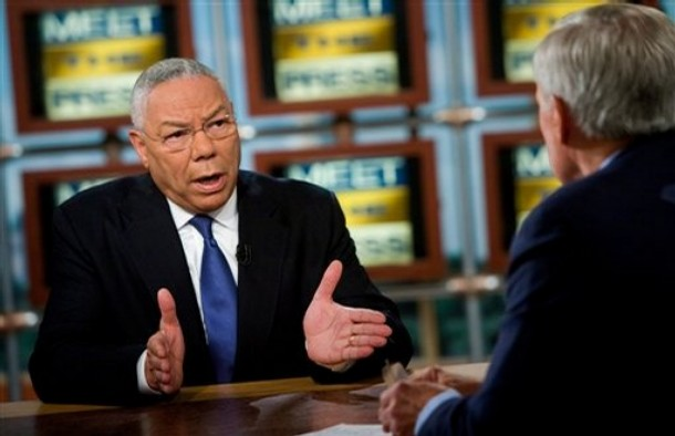 Is Colin Powell Coming Out ... Against Don't Ask Don't Tell?