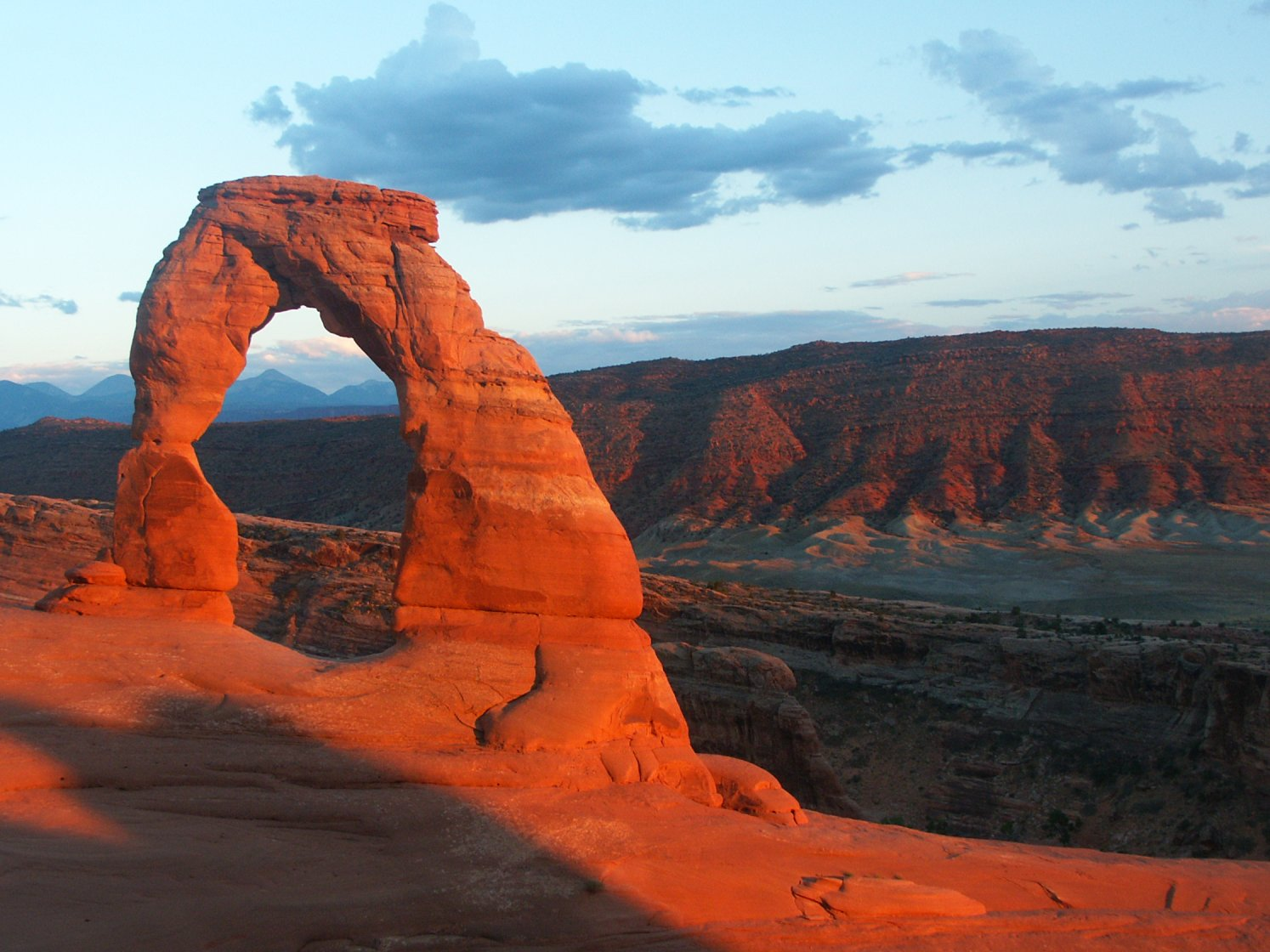 Utah's Delicate Arch Stands Up for Marriage Equality