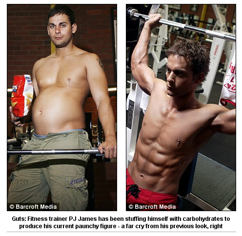 The Incredibly Fit Trainer Who Opted to Get Fat