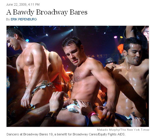 Baring All For Broadway