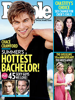 Heterosexual Chace Crawford Declared Most Attractive Single Person