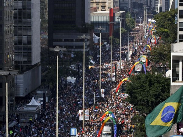 3 Million Celebrated São Paulo Pride. 21 Of Them Injured From Explosive