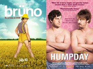 Which Movie Is a Better Gay Movie: Bruno or Humpday?