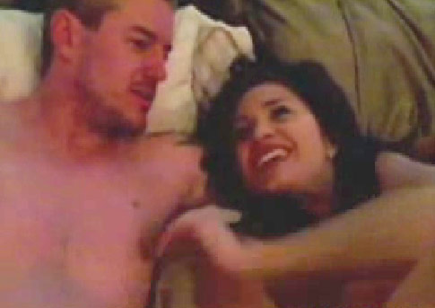 No, That Is Not Eric Dane's Wife He's Naked With. Because He's Having a 3-Way