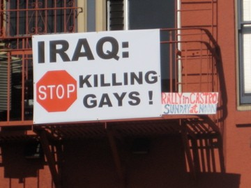 Are American Soldiers Really Executing Iraq's Gays?