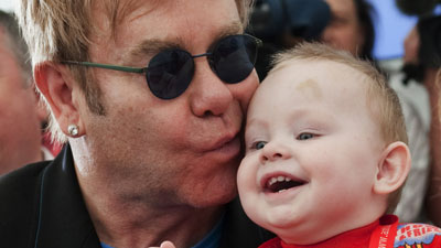 Elton John Risks Stately Curmudgeon Reputation With Baby Adoption