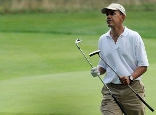 When the Gays Gather to March on D.C., Barack Obama Will Be Playing Golf