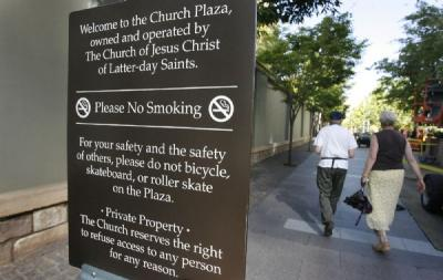 The Mormon Church's Helpful New Sidewalk Rules for Adults Who Want to Make Out