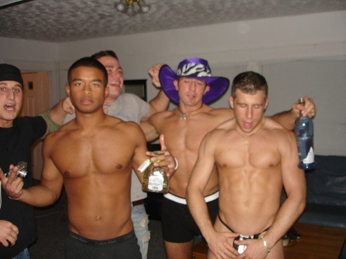 What Happens When a Bunch of Gay Frat Guys Get Together Over the Weekend
