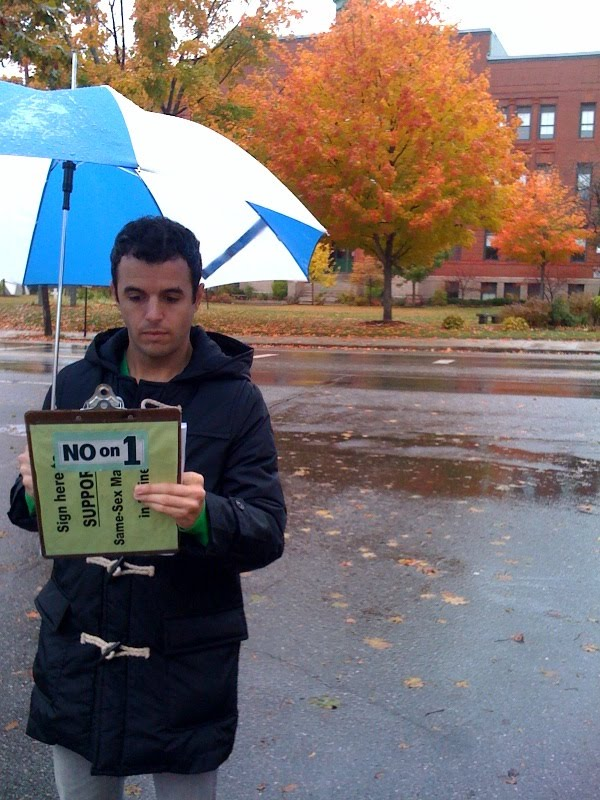 2 Minutes of Your Time: A Maine Marriage Equality Canvassing Diary