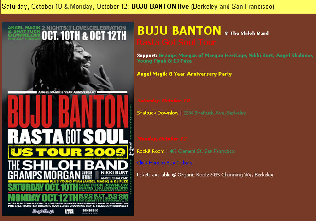 Buju Banton's Concerts May Be Cancelled, But He's Just Rescheduling At Different Venues