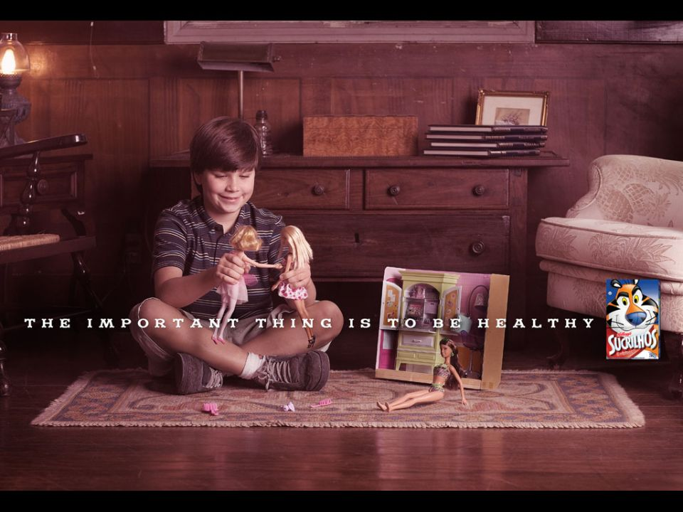 Kellogg's Health Message for Parents of Boys Who Play With Barbies