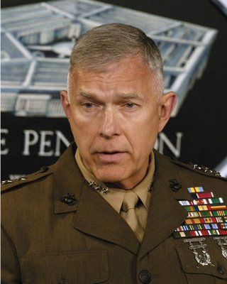 Marines Chief James Conway Doesn't Want His Sailors Acting Faggy