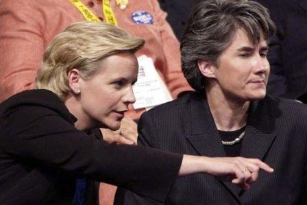 Mary Cheney + Heather Poe Welcomed 1st Daughter Yesterday. Today, They'll Have to Defend Her
