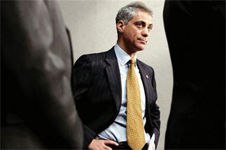 Rahm Emanuel Runs Away From the M-Word